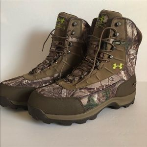 Under Armour Brow tine 800 gram hunting boots sz12